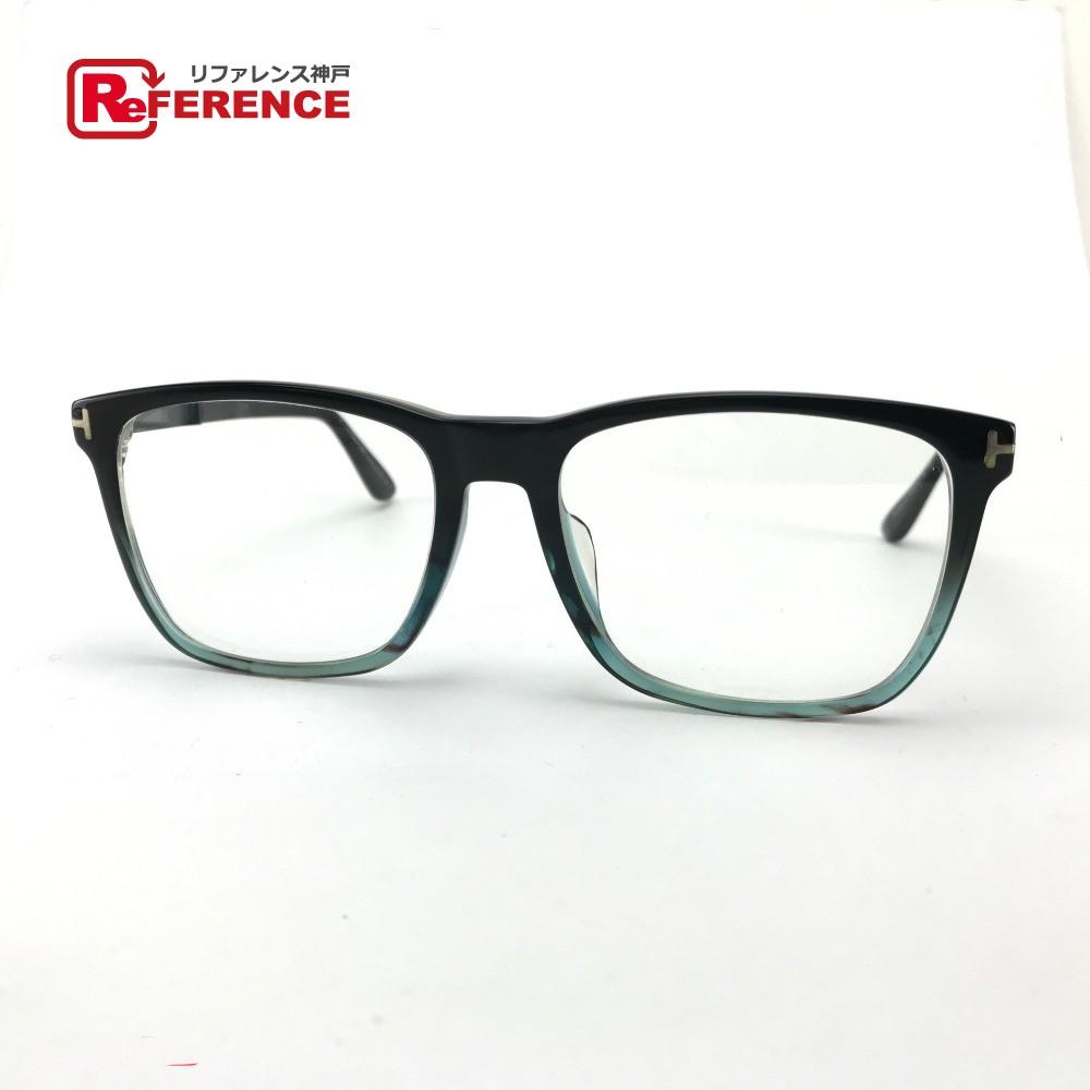 TOM FORD トムフォード TF-5351 メンズ レディース 眼鏡 プラスチック//57□18 150 ブラック レディース【中古】