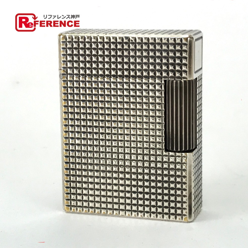 S.T.Dupont エス・テー・デュポン 喫煙具 ライン1 ライター 真鍮/ シルバー メンズ【中古】