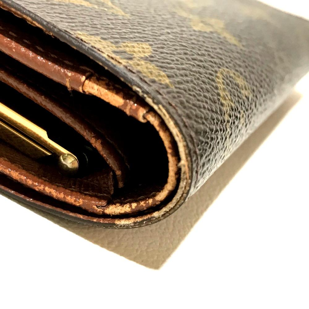 2a3f2cb6e6 ... AUTHENTIC LOUIS VUITTON Monogram Porte Monet-Vie-Viennois Kisslock  Bifold Wallet MonogramCanvas M61663 ...