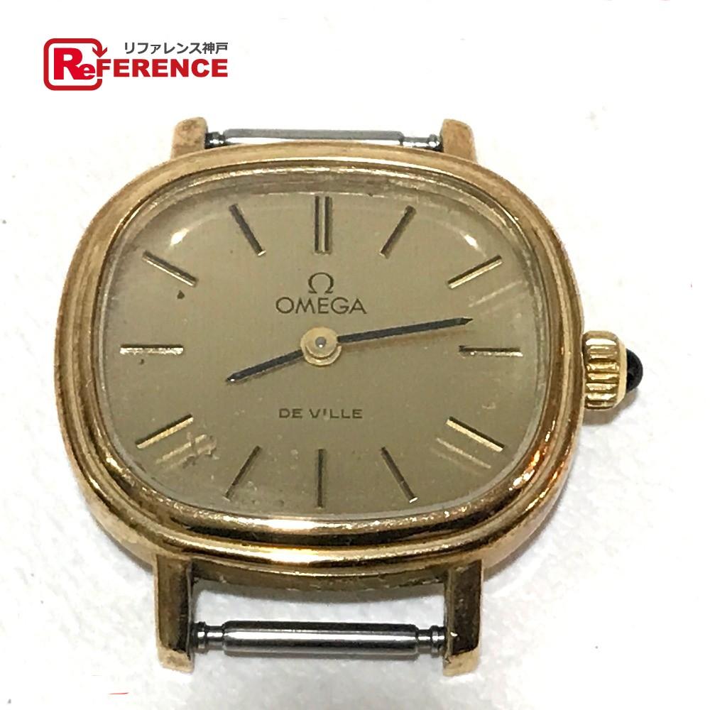 OMEGA オメガ 511.413 手巻き レディース腕時計 デビル 腕時計 GP ゴールド レディース【中古】