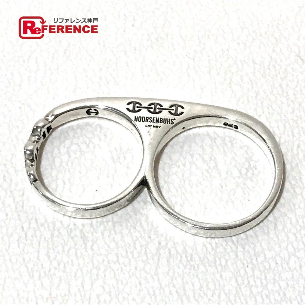 HOORSENBUHS ホーセンブース ナックルリング 三代目JSB:今市隆二 愛用モデル リング・指輪 SV925 11/16号 シルバー メンズ【中古】
