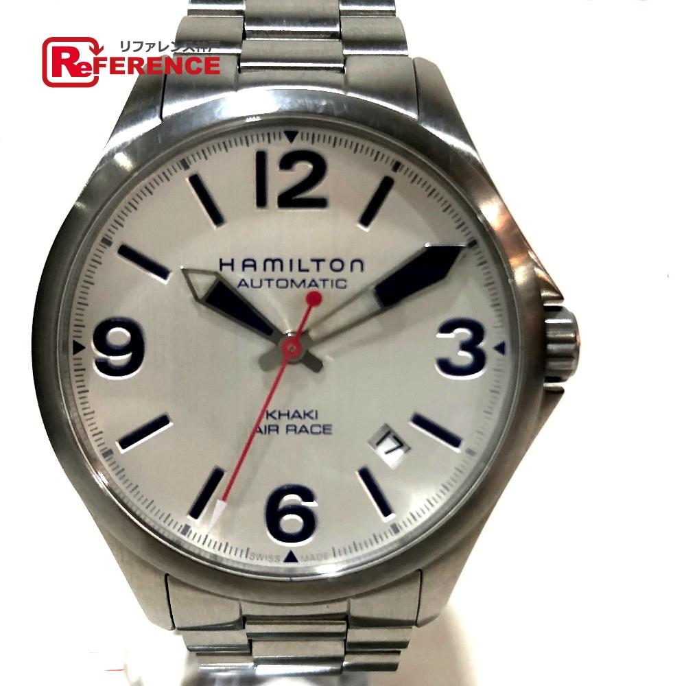 HAMILTON ハミルトン H762250 カーキ デイト レッドブル・エアレース メンズ腕時計 腕時計 SS シルバー メンズ【中古】