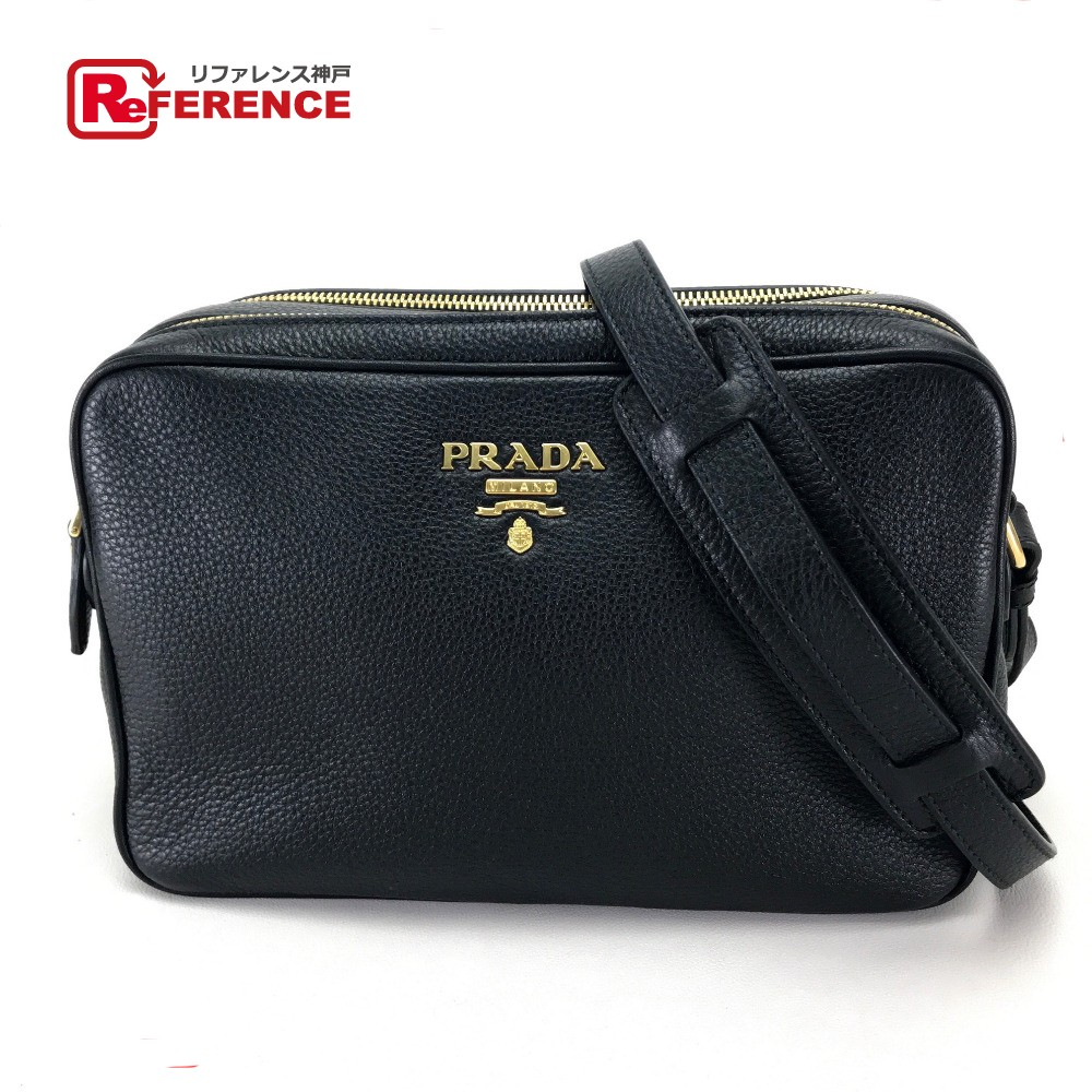 eb545887491ba8 As well as PRADA Prada 1BH079 ポシェットヴィッテロフェニックスショルダーバッグレザー / canvas black ...