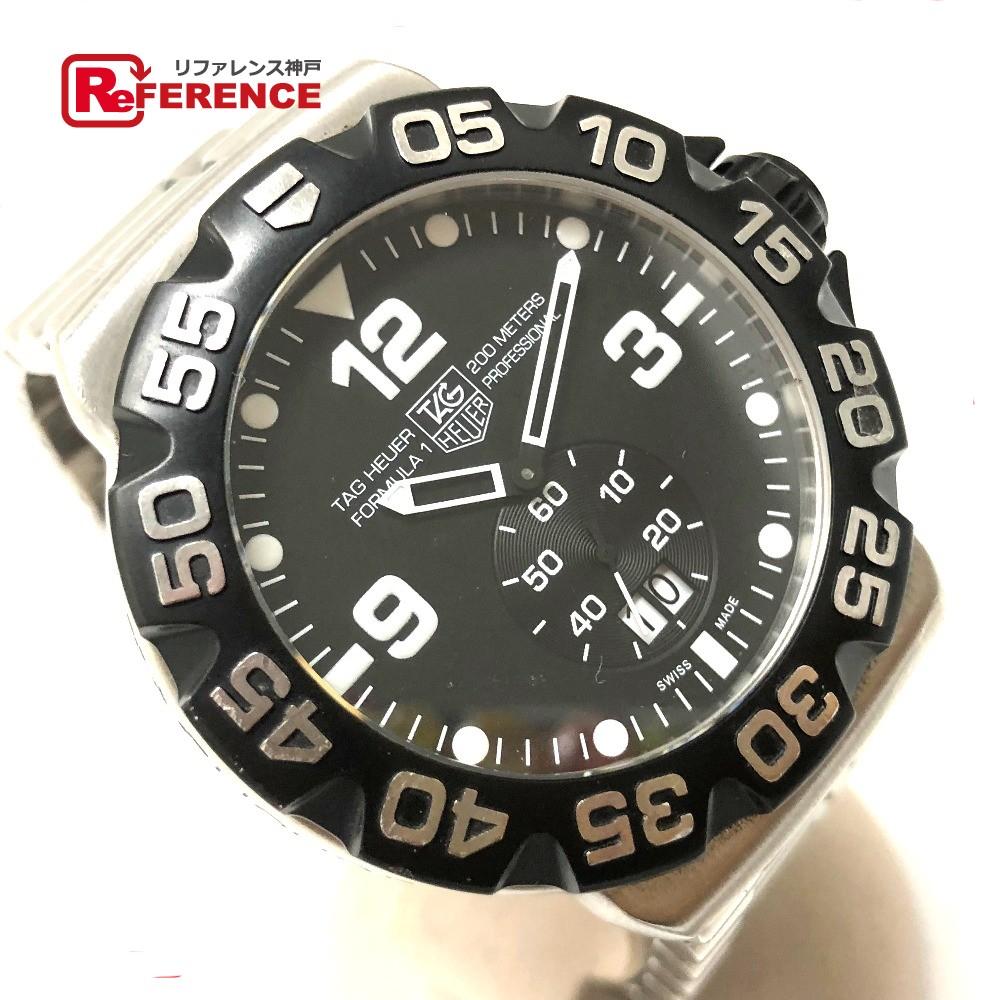 TAG HEUER タグホイヤー WAH1010 メンズ腕時計 グランドデイト フォーミュラ1 腕時計 SS シルバー メンズ【中古】