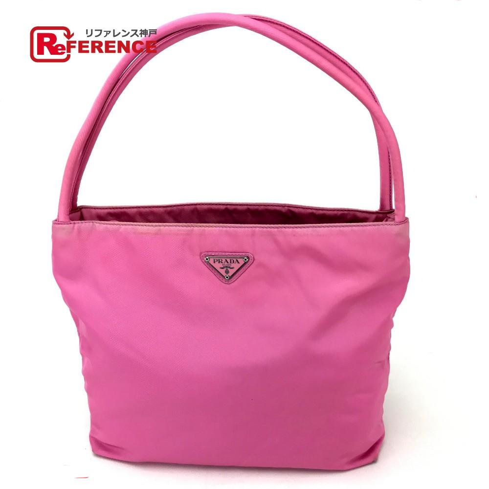 e53110def765 BRANDSHOP REFERENCE: PRADA Prada B6242 tote bag logo plate shoulder ...