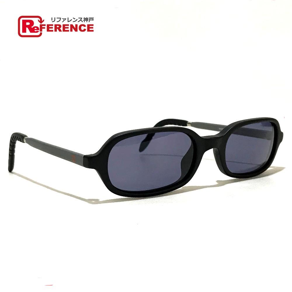 CHANEL シャネル 10512 メンズ レディース 31 RUE CAMBON カンボン アイウェア サングラス プラスチック ブラック×グレー ユニセックス【中古】