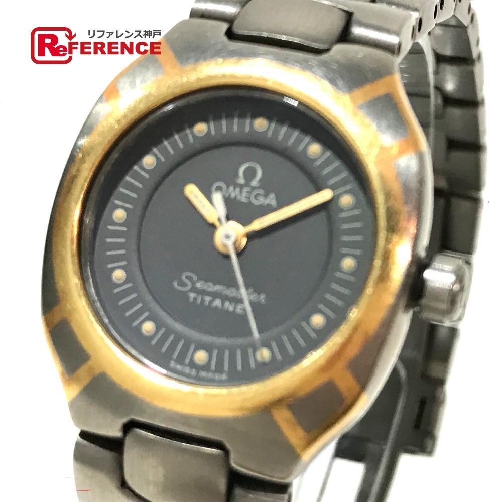 OMEGA オメガ シーマスター ポラリス レディース腕時計 腕時計 チタン シルバー レディース【中古】