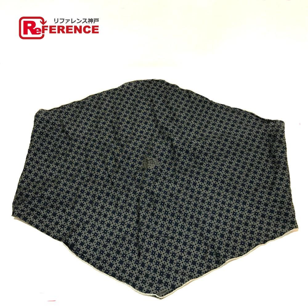 HERMES エルメス ファッション小物 ロサンジュ タグ有り スカーフ グレー系 レディース【中古】
