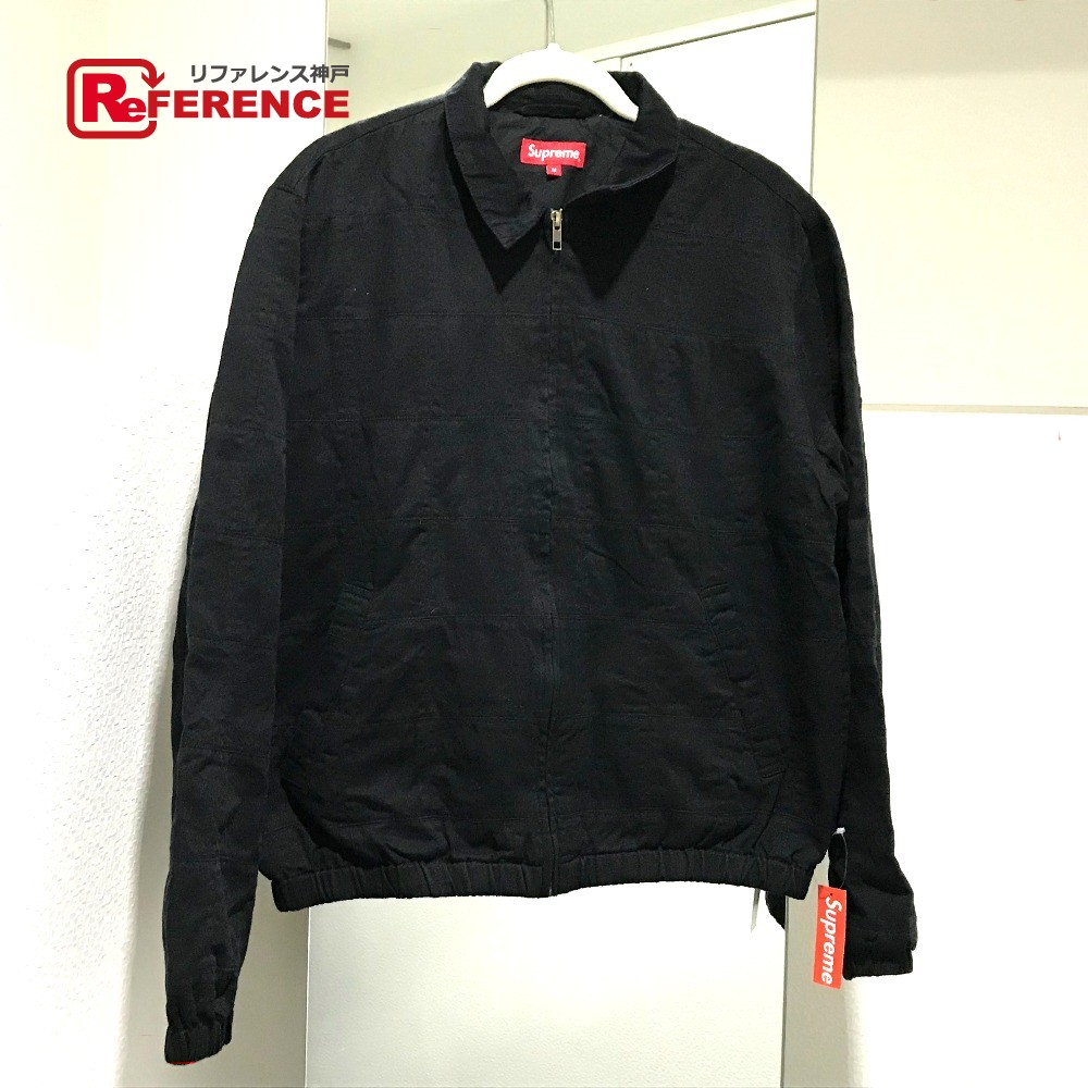Supreme シュプリーム パッチワークハリントン 19SS Patchwork Harrington Jacket アパレル ブルゾンジャケット ブラック メンズ 未使用【中古】