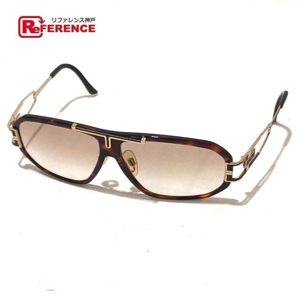 CAZAL カザール  881/1 度入りサングラス メンズ ファッション小物 眼鏡 プラスチック/メタル ブラウン×ゴールド ユニセックス【中古】
