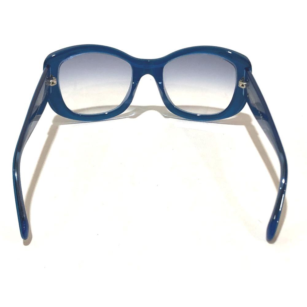 3780e337 AUTHENTIC CHANEL CC Coco Fashion Accessories Men's Women's sunglasses blue  Plastic 5239-A