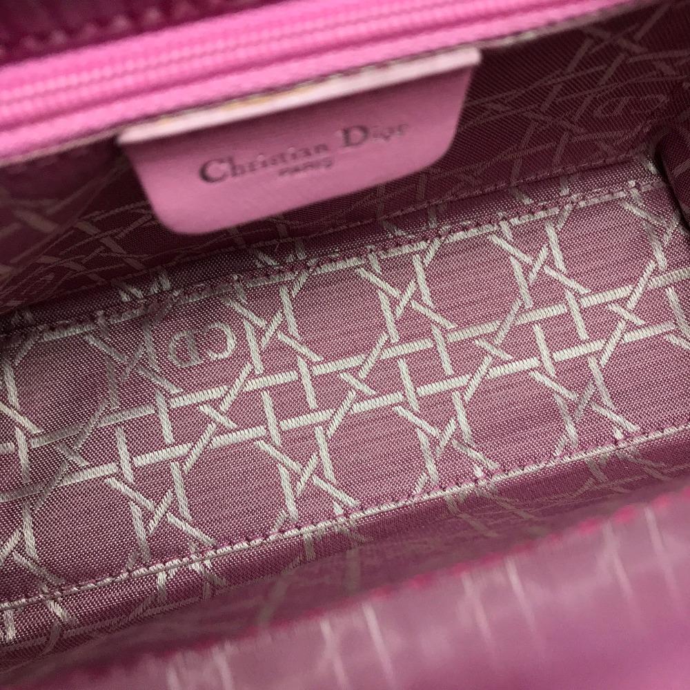 cd03428646 ... AUTHENTIC Christian Dior Shoulder strap Lady-CHRISTIAN DIOR mini Hand  Bag Shoulder Bag 2way bag ...