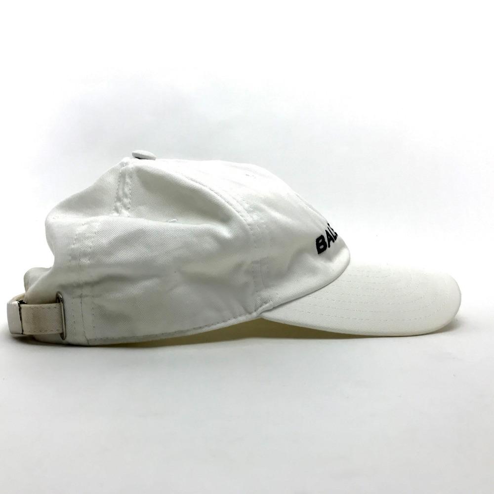41737234 ... AUTHENTIC BALENCIAGA Men's Women's Classic baseball cap Logo embroidery  hat White cotton/ 452245 ...