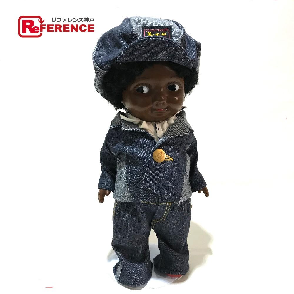 LEE リー フィギュア 人形 玩具 バディ・リー ケイキ― デニム ブルー系xブラウン キッズ 未使用【中古】