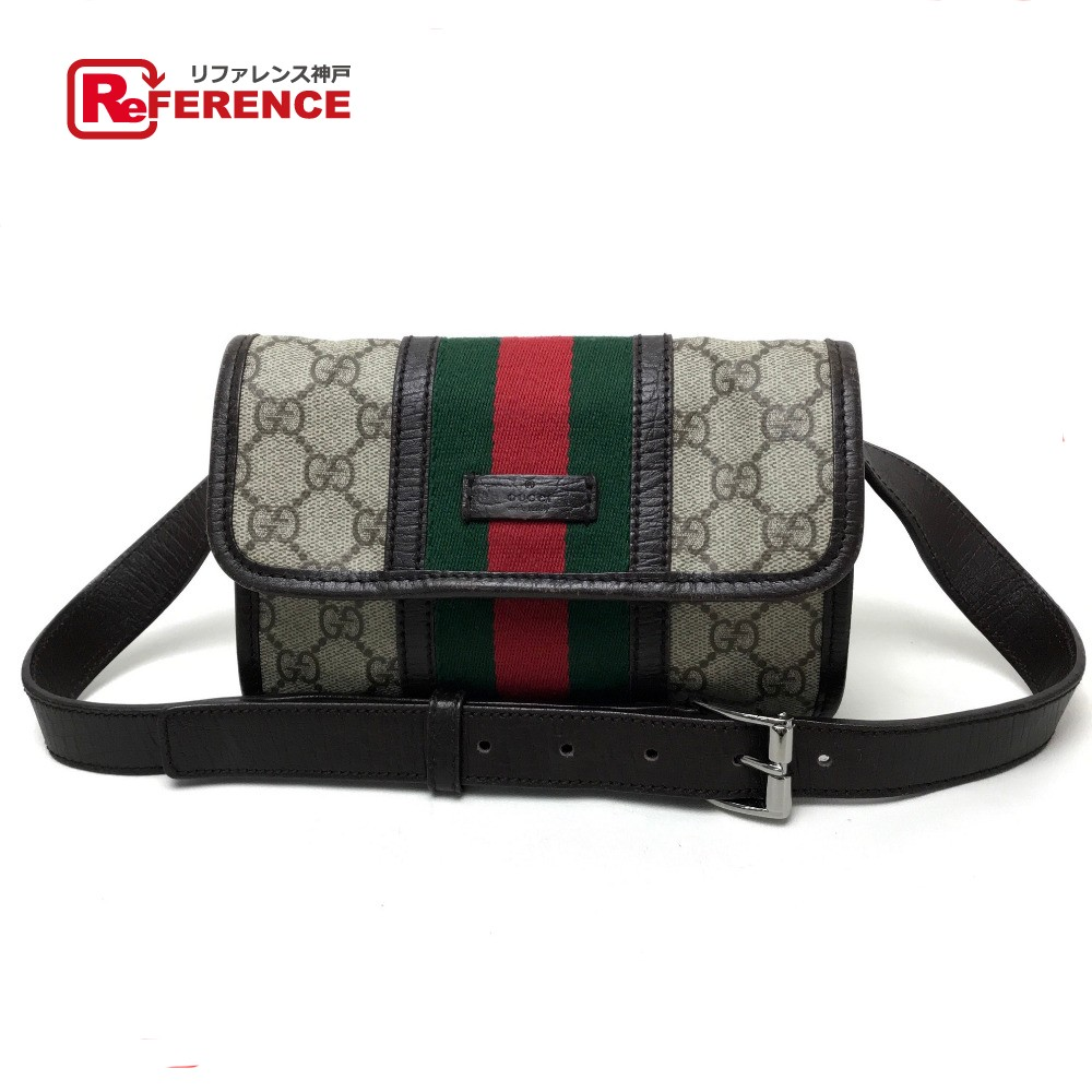 5cfe9db0a1747 GUCCI Gucci 152597 belt bag body bag waist porch belt bag men gap Dis hips  bag ...
