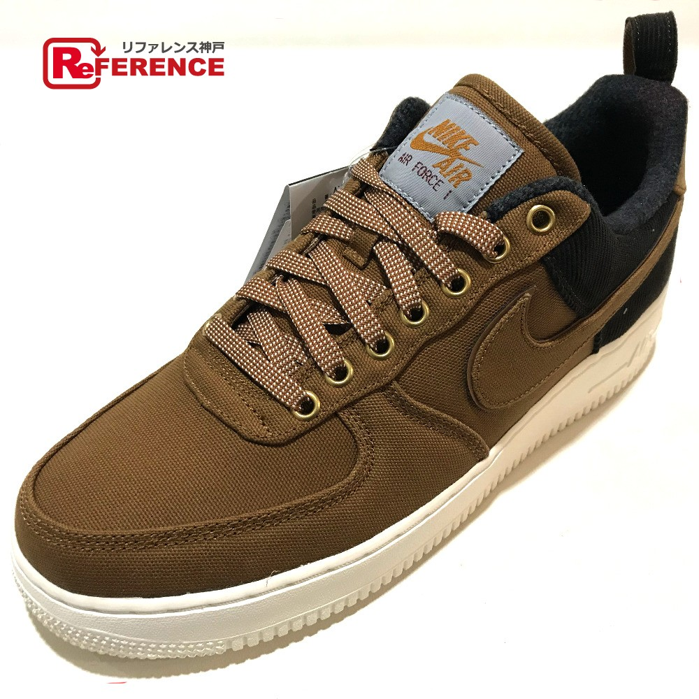 new concept e56b6 fde10 AUTHENTIC NIKE Unused Nike x Carhartt collaboration Air Force 1 Shoes shoes  sneakers Brown/Black AV4113-200