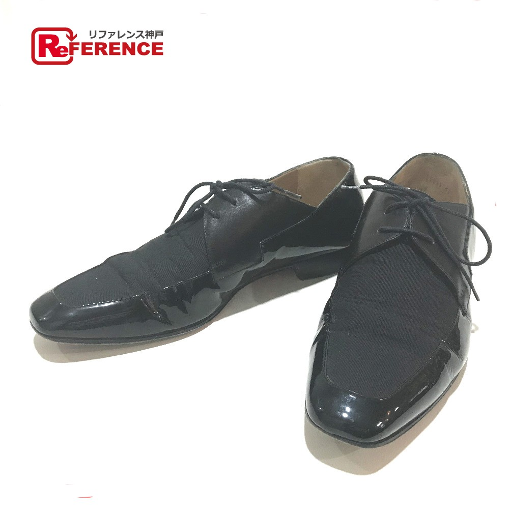 best service 737dd 997cc Christian Louboutin クリスチャンルブタンアパレルメンズ shoes business shoes dress shoes  leather X canvas black men