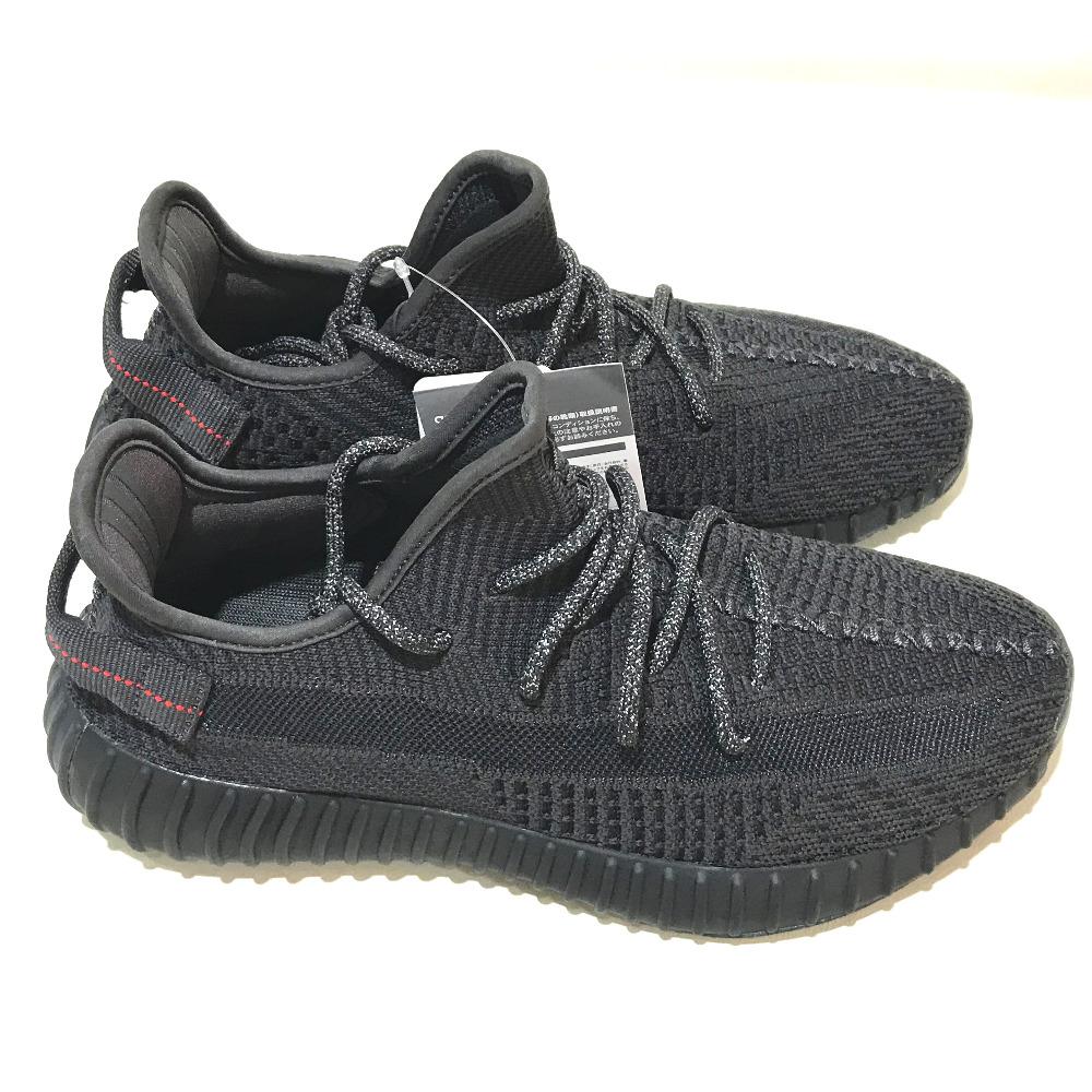 buy online 8c88b d43f3 adidas Originals Adidas originals FU9006 Kanie waist easy boost 350 triple  black YEEZY BOOST 350 V2 BLACK STATIC sneakers canvas black men mint ...