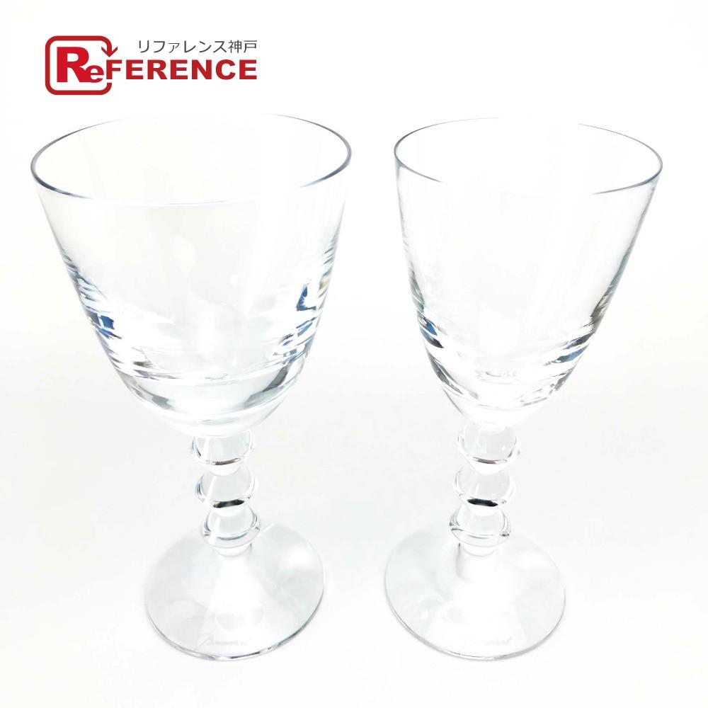 Baccarat バカラ ワイングラス 2個セット 2客 ベガ ペア セット グラス クリスタルガラス クリア ユニセックス 未使用【中古】