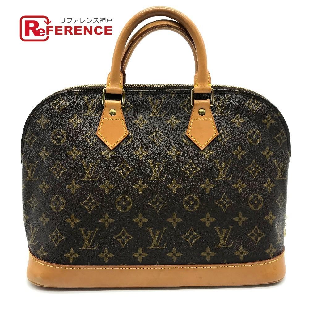 LOUIS VUITTON ルイヴィトン M51130 雑貨 鞄 カバン かばん 旧型 アルマ モノグラム ハンドバッグ ブラウン ユニセックス【中古】