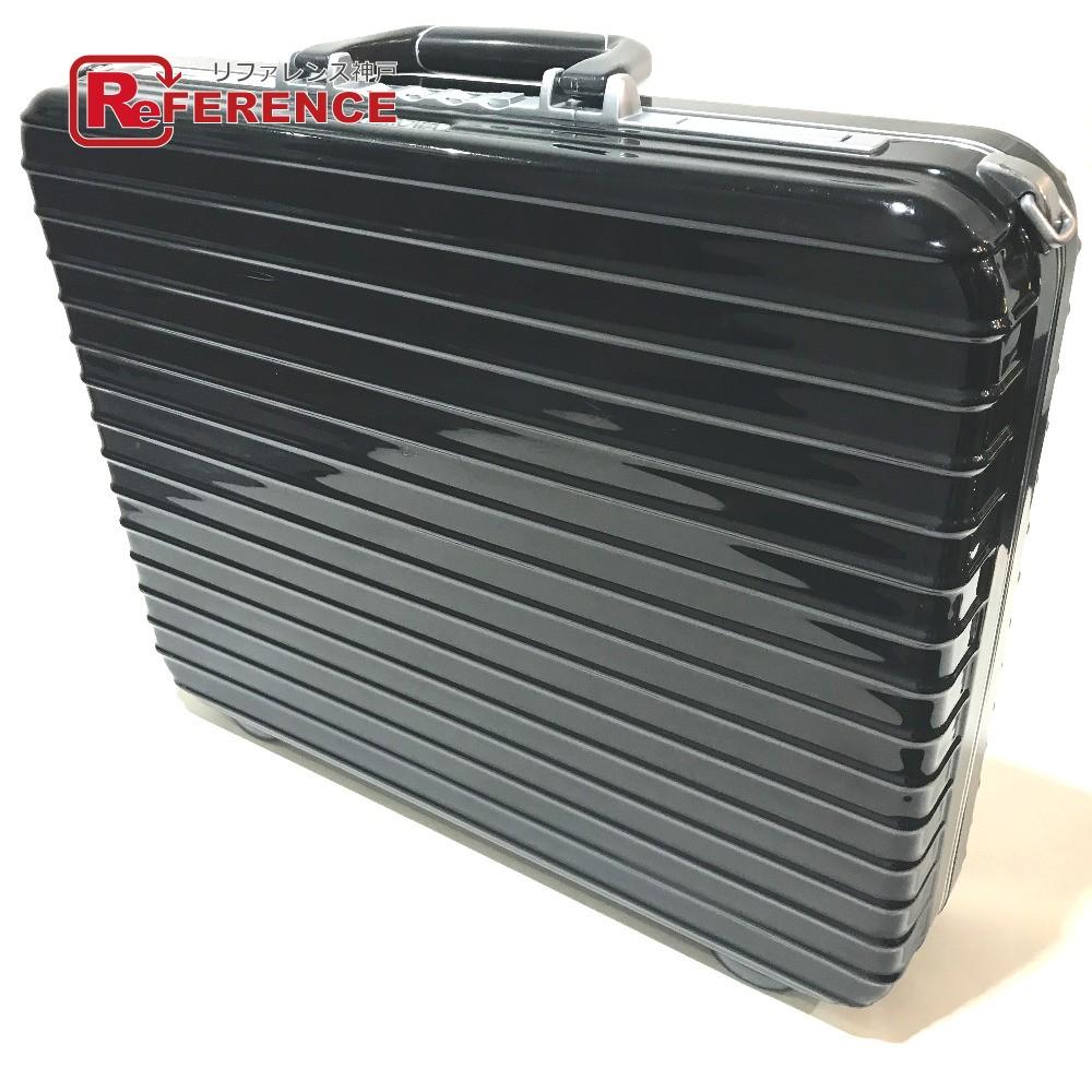 RIMOWA リモワ アタッシュケース 880.09 リンボ ノートブックL 14L ビジネスバッグ ポリカーボネート ブラック メンズ【中古】