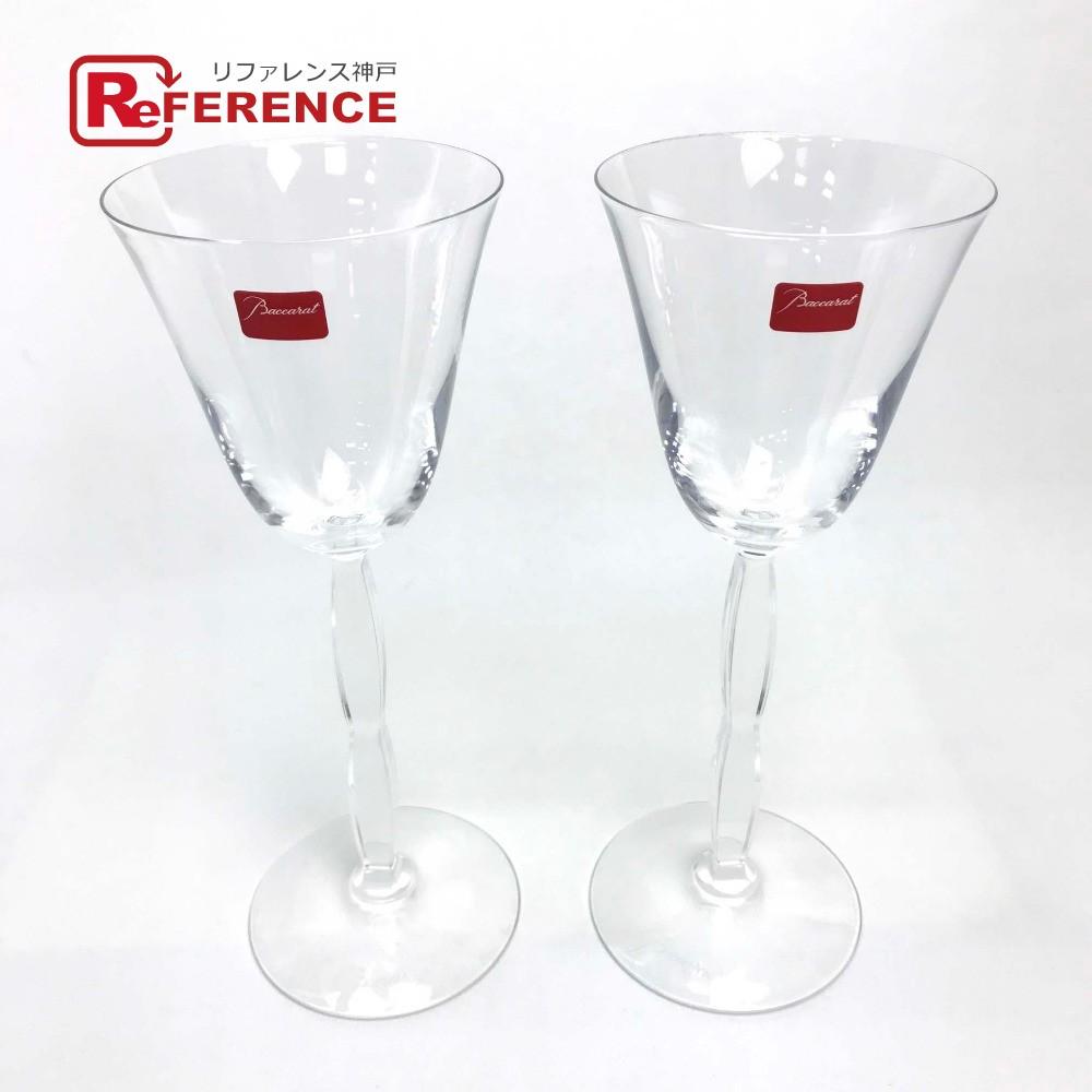 Baccarat バカラ 食器 インテリア ワイン ワイングラス ペア オンド グラス クリスタルガラス ユニセックス 未使用【中古】