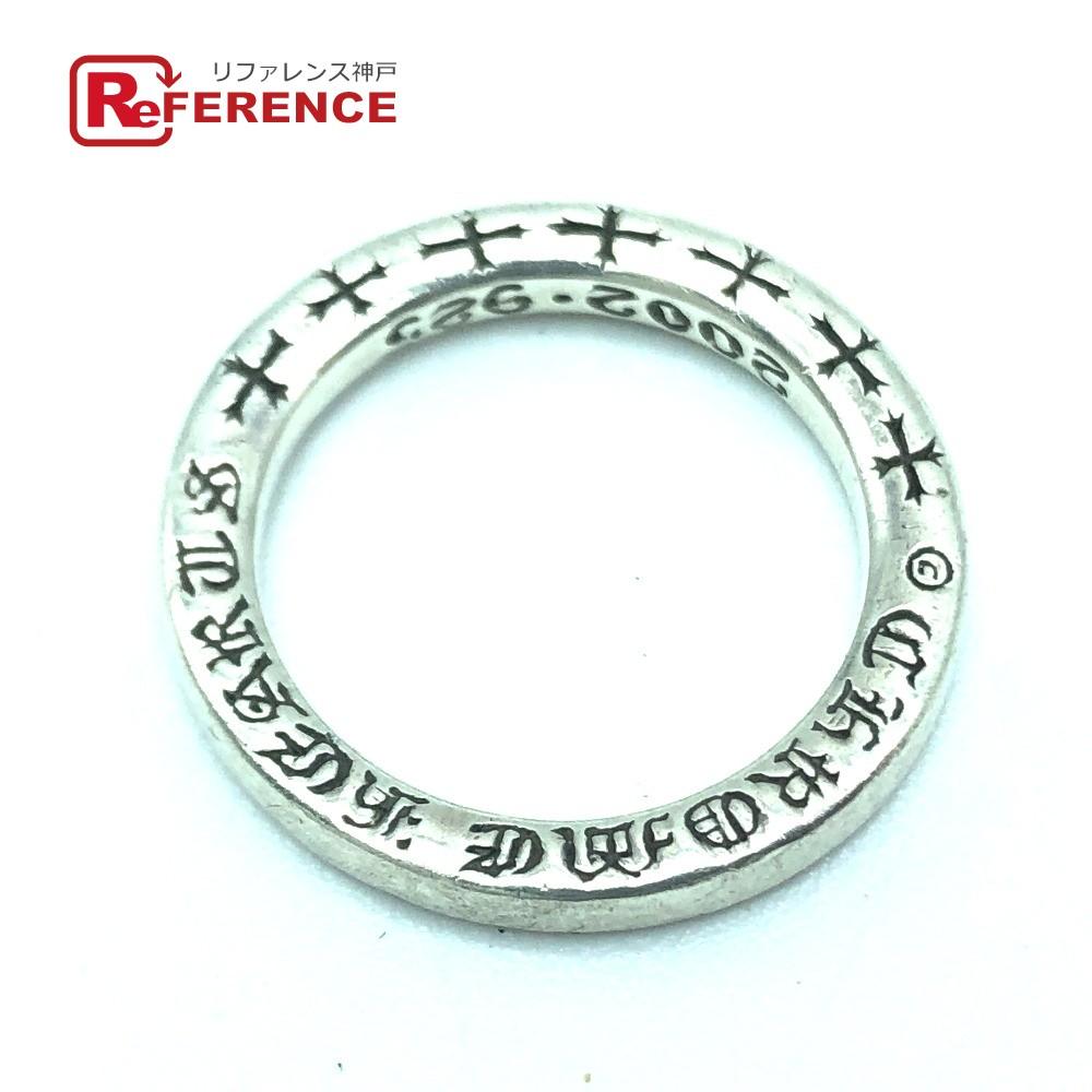 CHROME HEARTS クロムハーツ メンズ レディース 2002 NTFL リング・指輪 シルバー925 9号 シルバー ユニセックス【中古】