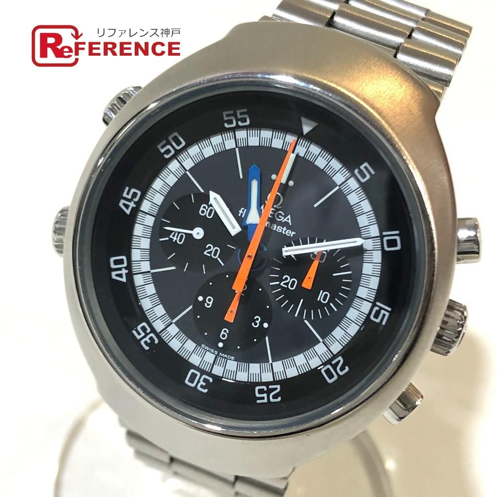 手数料安い OMEGA オメガ ST145.036 クロノグラフ 手巻き フライトマスター メンズ腕時計 Cal.911 腕時計 SS メンズ シルバー 【】, 深江町 3026f9c1