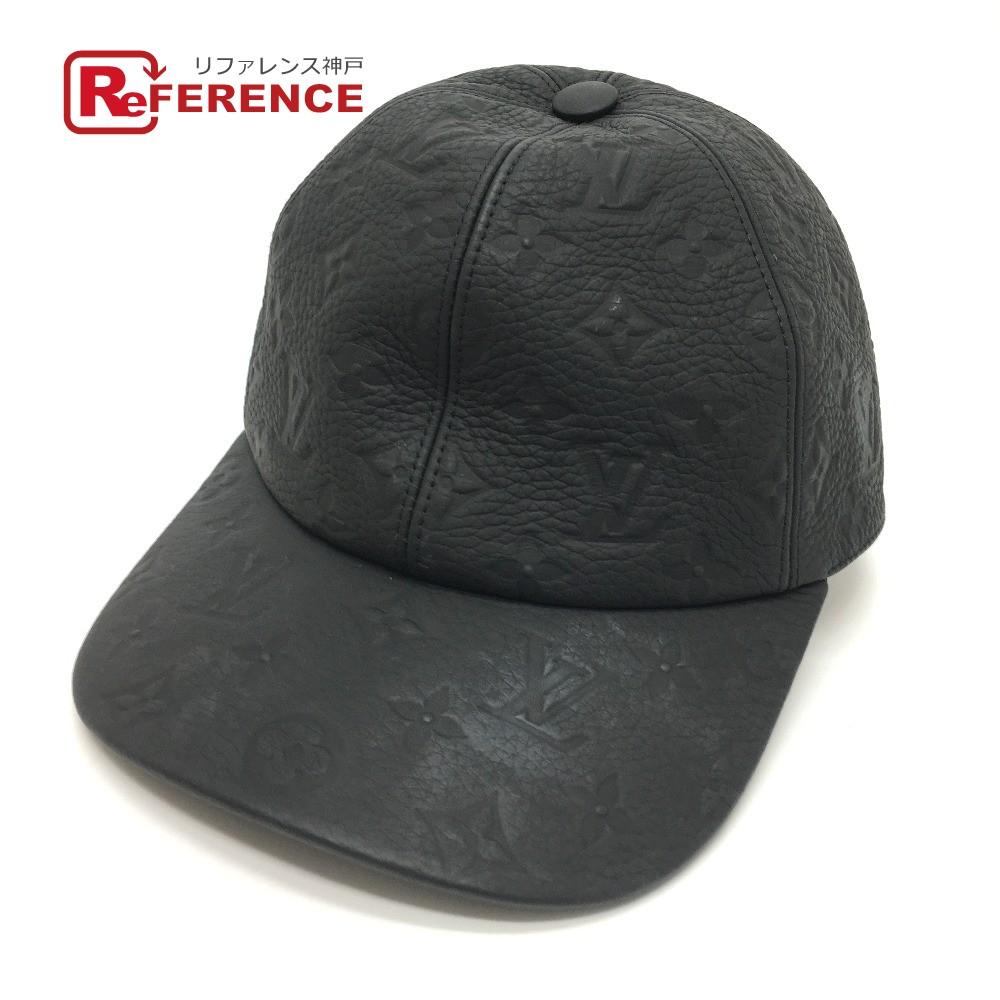 人気 中古 中古良品 レザーキャップ 黒 LV LOUIS VUITTON ルイヴィトン 帽子 あす楽対応 メンズ トリヨンレザー 1.1 ブラック モノグラム キャスケット MP2605 送料無料 ノワール 安い 激安 プチプラ 高品質