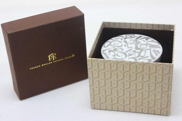 FRANCK MULLER 未來形式 Franck Muller 未來形式白金糖鍋白色 x 銀未使用 0601年樂天卡司