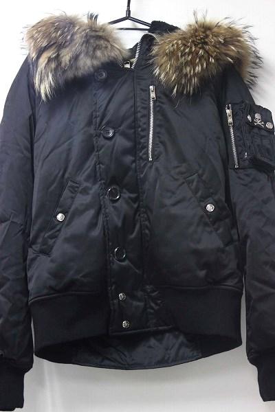 mastermind JAPAN×PORTER スターマインドジャパン×ポーター メンズ 中綿入りフード付きジャケット M ブラック 【中古】 KK