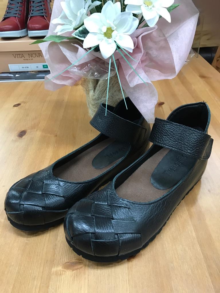 ミュール・シューズ『5001-BK-TRANQUILLO』2017年大人気靴(1万以上のお買い上げで送料無料)ブラック(ラッピング無料)MADE IN JAPAN-4E(EEEE)5001-BK-TRANQUILLO