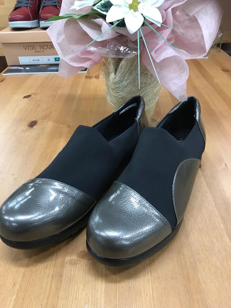 ミュール・シューズ『275-GYTU-TRANQUILLO』2017年大人気靴(1万以上のお買い上げで送料無料)275-グレーエナメル(ラッピング無料)MADE IN JAPAN(クッション抜群)275-GYTU-TRANQUILLO