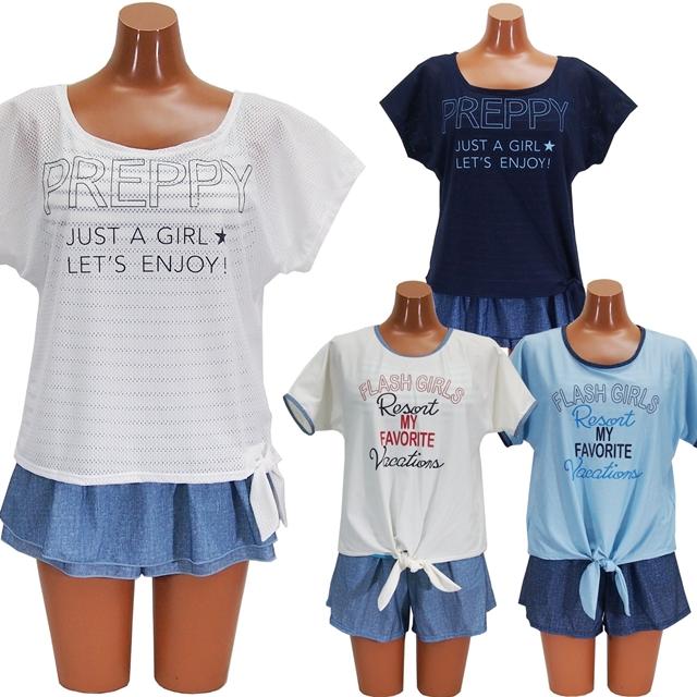 dedc600ab92 水着 レディース タンキニ 体型カバー ジュニア 中学生 高校生 中高生 ティーン 女の子 女性 キャミソール Tシャツ ゆったり