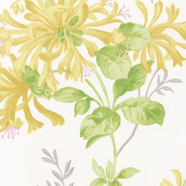 輸入壁紙/イギリス製/WallPaper Collection:LAURA ASHLEY(ローラアシュレイ)メーカー品番:LA17003/ハニーサックルトレイル/1ロール(巾53cmX10m)単位販売/紙壁紙/準不燃/領収書対応可
