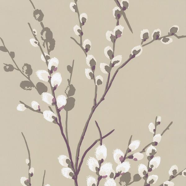 輸入壁紙/イギリス製/WallPaper Collection:LAURA ASHLEY(ローラアシュレイ)メーカー品番:LA17017/プッシーウィロー/1ロール(巾53cmX10m)単位販売/紙壁紙/準不燃/領収書対応可