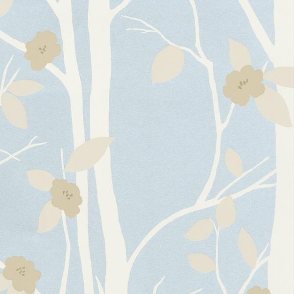 輸入壁紙/イギリス製/WallPaper Collection:LAURA ASHLEY(ローラアシュレイ)メーカー品番:LA17026/コットンウッド/1ロール(巾53cmX10m)単位販売/紙壁紙/準不燃/領収書対応可