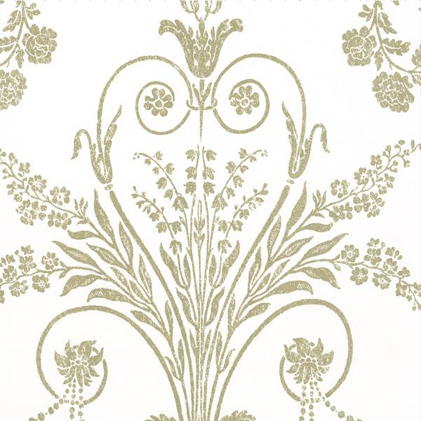 輸入壁紙/イギリス製/WallPaper Collection:LAURA ASHLEY(ローラアシュレイ)メーカー品番:LA17044/ジョゼッテ/1ロール(巾53cmX10m)単位販売/紙壁紙/準不燃/領収書対応可