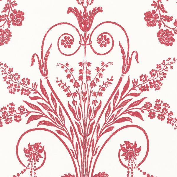 輸入壁紙/イギリス製/WallPaper Collection:LAURA ASHLEY(ローラアシュレイ)メーカー品番:LA17048/ジョゼッテ/1ロール(巾53cmX10m)単位販売/紙壁紙/準不燃/領収書対応可