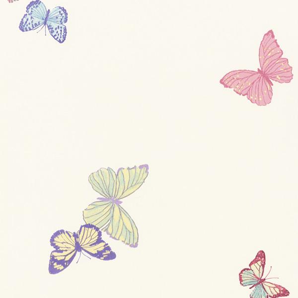【在庫限り】輸入壁紙/イギリス製/WallPaper Collection:LAURA ASHLEY(ローラアシュレイ)メーカー品番:LA17065/サマーメドウ/1ロール(巾53cmX10m)単位販売/紙壁紙/準不燃/領収書対応可