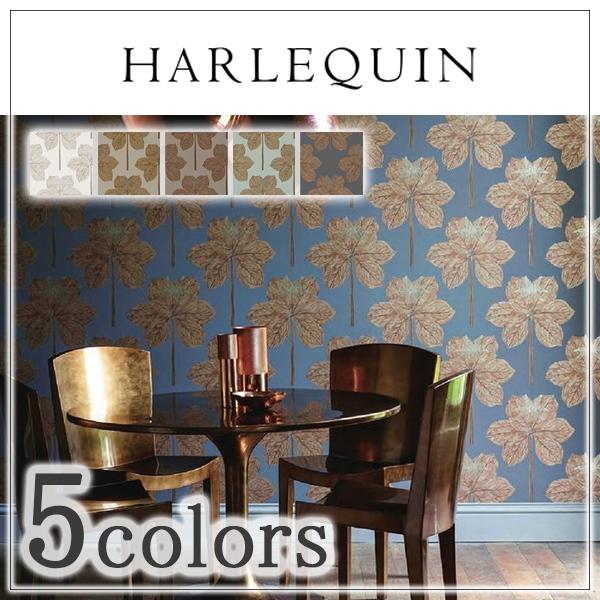 輸入壁紙/イギリス製/HARLEQUIN(ハーレクイン):HARLEQUIN(ハーレクイン)メーカー品番:111225,111226,111227,111228,111229/Lovers Knot/1ロール(巾52cm×10.058cm)単位販売/不織布/不燃