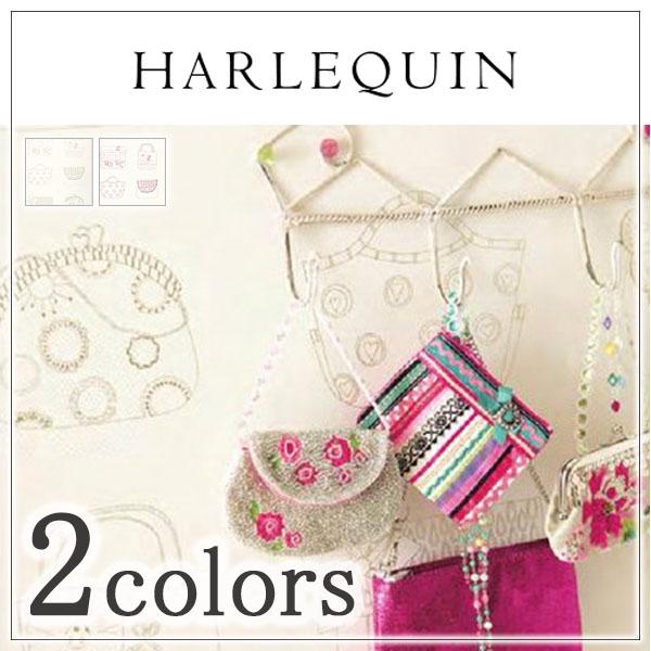 輸入壁紙/イギリス製/HARLEQUIN(ハーレクイン):HARLEQUIN(ハーレクイン)メーカー品番:70518,70519/Pick 'n' Mix/1ロール(巾52cm×10.05m)単位販売/紙/F☆☆☆☆/不燃
