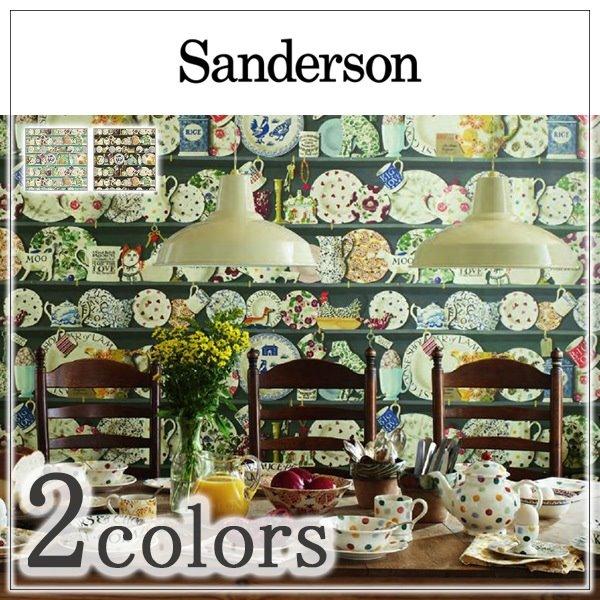 輸入壁紙/イギリス製/Sanderson(サンダーソン):Sanderson(サンダーソン)メーカー品番:213649,213650/The Dresser/1m(巾137cm)単位販売/不織布/F☆☆☆☆/準不燃