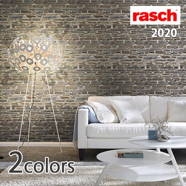 輸入壁紙/ドイツ製/rasch 2020:rasch2020(ラッシュ)メーカー品番:863413,863420/Fakes/1ロール(巾53cmX10m)単位販売/不織布