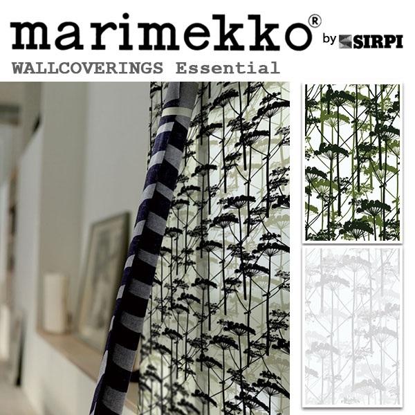 輸入壁紙/フィンランド(生産はイタリア)製/Essential(エッセンシャル):marimekko(マリメッコ)メーカー品番:14150,14152/PUTKINOTKO(プトキノトコ)/1ロール(巾70cmX10.05m)単位販売/不織布