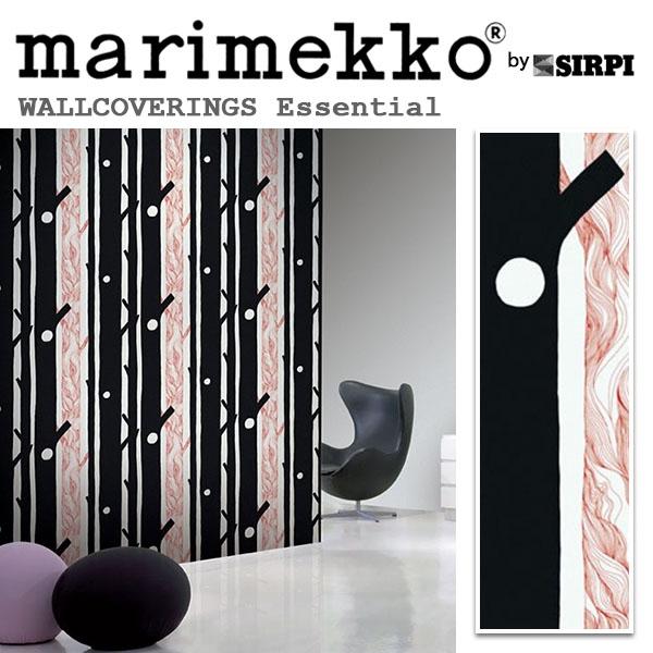 輸入壁紙/フィンランド(生産はイタリア)製/Essential(エッセンシャル):marimekko(マリメッコ)メーカー品番:13005/AARNI(アールニ)/1ロール(巾70cmX10.05m)単位販売/不織布PVCコーティング