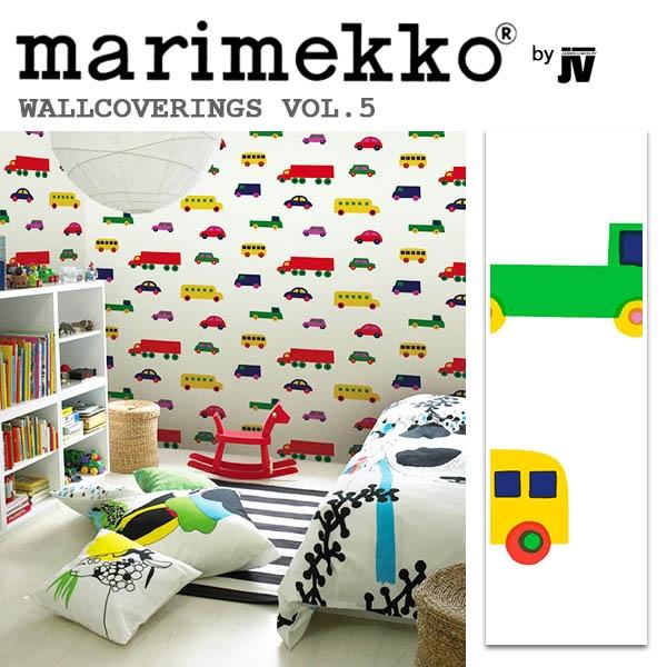 輸入壁紙/フィンランド(生産はイタリア)製/Essential(エッセンシャル):marimekko(マリメッコ)メーカー品番:13025/BOBOO(ブ ブー)/1ロール(巾70cmX10.05m)単位販売/不織布PVCコーティング
