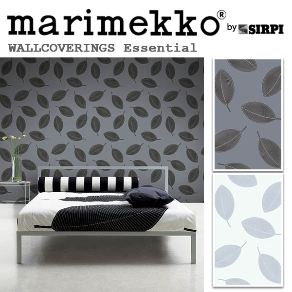 輸入壁紙/フィンランド(生産はイタリア)製/Essential(エッセンシャル):marimekko(マリメッコ)メーカー品番:13031,13032/STILLA(スティラ)/1ロール(巾70cmX10.05m)単位販売/不織布PVCコーティング