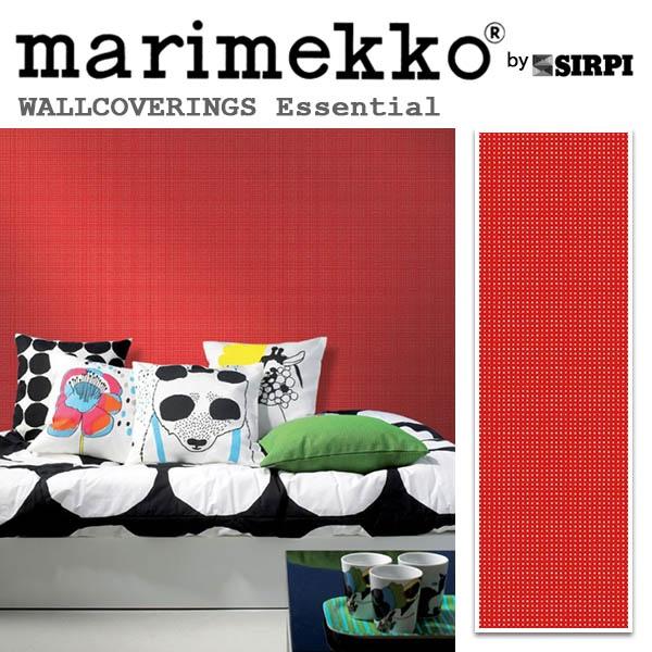 輸入壁紙/フィンランド(生産はイタリア)製/Essential(エッセンシャル):marimekko(マリメッコ)メーカー品番:14182/MURU(ムル)/1ロール(巾70cmX10.05m)単位販売/不織布PVCコーティング