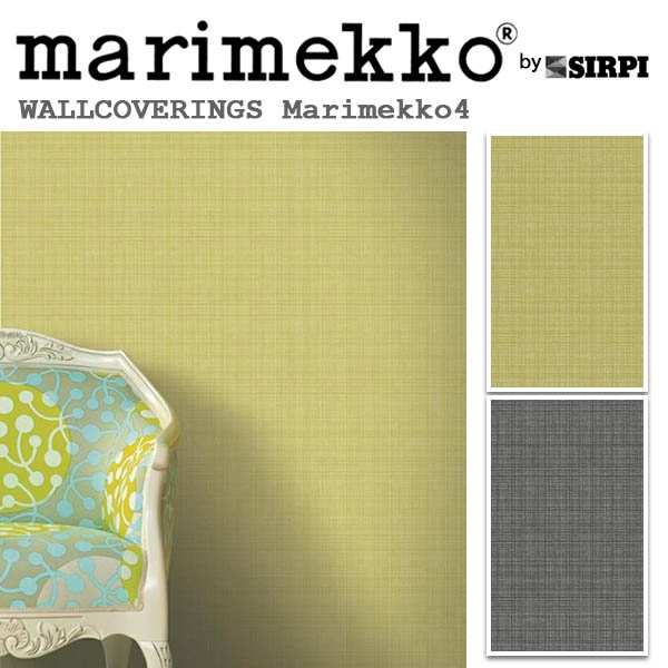輸入壁紙/フィンランド(生産はイタリア)製/Marimekko4(マリメッコ4):marimekko(マリメッコ)メーカー品番:17983,17984/MEGARUUTU(メガルーツ)/1ロール(巾53cmX10.05m)単位販売/不織布